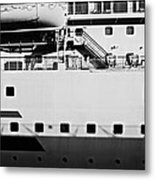 Ship Watching Metal Print by Dean Harte