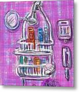 Shower Time Metal Print by Russell Pierce