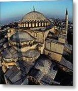 Side Domes And Minarets Gather Metal Print