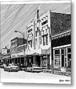 Silver City New Mexico Metal Print