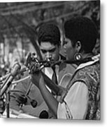 Singer Odetta At The 1963 Civil Rights Metal Print by Everett
