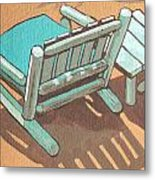 Sit Back And Relax Metal Print