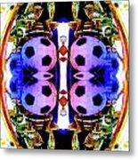 Soccer Memorabilla 4 Metal Print