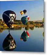 Soft Landings Metal Print by Mike  Dawson