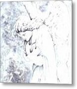 Solace Angel Metal Print
