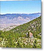 Solitude With A View - Carson City Nevada Metal Print
