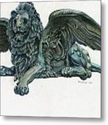 St. Mark's Lion Metal Print