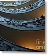 Staircase At The Vatican Metal Print by Bob Christopher