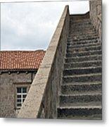 Stairway In Dubrovnik Metal Print by Madeline Ellis