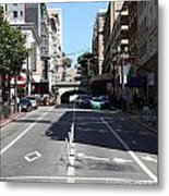 Stockton Street Tunnel In San Francisco Metal Print