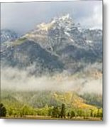 Storm On Grand Teton Metal Print