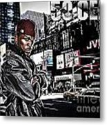Street Phenomenon 50 Cent Metal Print