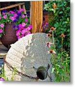 Summer Millstone Metal Print by Jan Amiss Photography