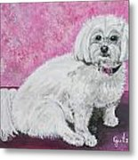 Sunny Metal Print by Paintings by Gretzky