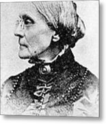 Susan B. Anthony, American Civil Rights Metal Print by Photo Researchers, Inc.