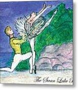 Swan Lake Ballet Metal Print by Marie Loh