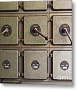 Switch Panel Metal Print by Carlos Caetano