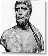 Thales, Ancient Greek Philosopher Metal Print by Science Source