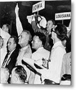 The Agitated Alabama Delegation Metal Print