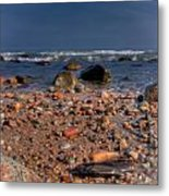The Beach Metal Print by David Hahn