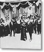 The Cakewalk Metal Print by Photo Researchers