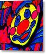 The Circus Circus Clown Metal Print