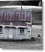 The Crooked Cottage Metal Print