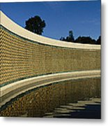 The Field Of Stars On The Freedom Wall Metal Print