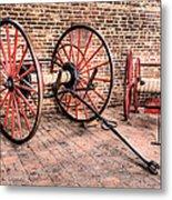 The Firehouse Metal Print