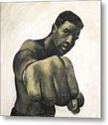 The Fist Metal Print by L Cooper