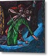 The Forest Lord Prevents A Rash Act Metal Print by Al Goldfarb