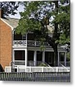 The Mclean House In Appomattox Virgina Metal Print