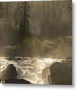 The North Fork Of The Stanislaus River Metal Print by Phil Schermeister