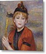 The Rambler Metal Print by Pierre Auguste Renoir
