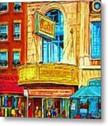 The Rialto Theatre Metal Print