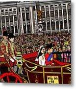 The Royal Wedding  Metal Print by Karen Elzinga