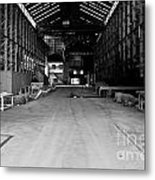 The Shed Metal Print by John Buxton
