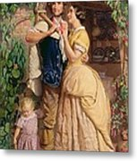 The Sinews Of Old England Metal Print by George Elgar Hicks
