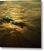 The Sun Obscured By A Late Afternoon Metal Print