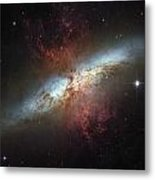 This Galaxy Is Called The Cigar Galaxy Metal Print