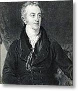 Thomas Young, English Polymath Metal Print by Photo Researchers