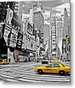 Times Square - New York Metal Print