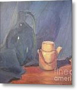 Tiny Tea Metal Print by Lilibeth Andre