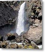 Tower Fall Of Yellowstone Metal Print
