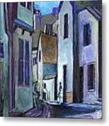 Town In Italy Metal Print by Carol Mangano