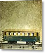 Toy Train Metal Print by Bernard Jaubert