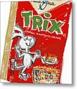 Trix Metal Print by Russell Pierce