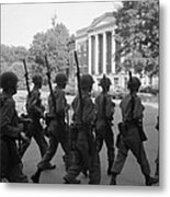 Troops At The University Of Alabama Metal Print