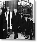 Truman Presidency. From Left Cathedral Metal Print