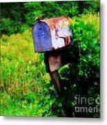 U.s. Mail 2 Metal Print